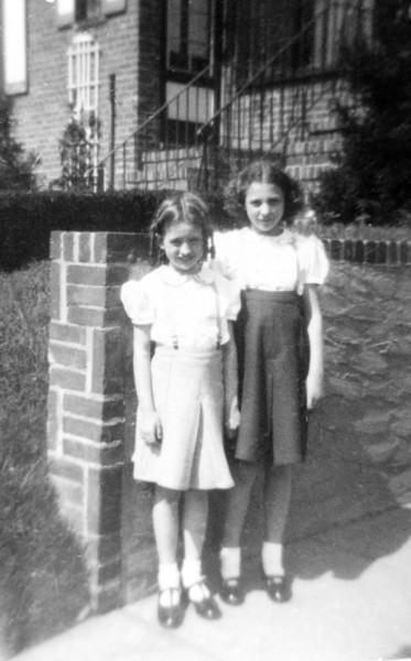 Easter Sunday in East Elmhurst, Mom, Cece