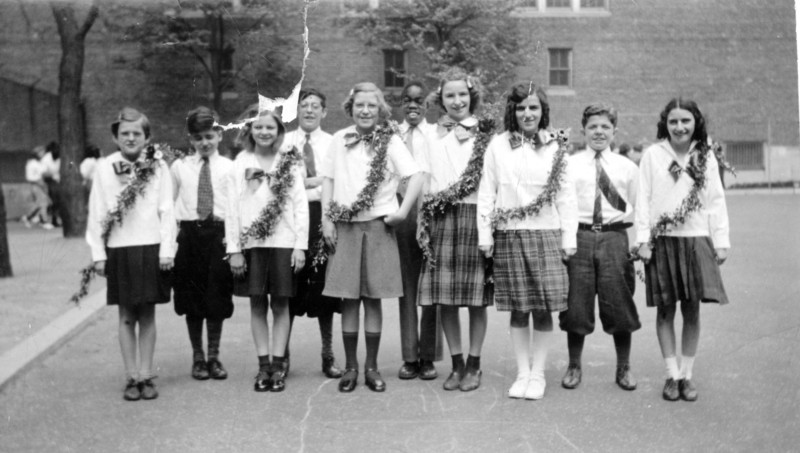 Dotty, 1st on left