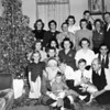 Standing (l-R) Tess Seversky, ?, Catherine Seversky (baba), Katie Willis, Mary Seversky, Don Willis, ?, ?<br /> Knelling middle: Helen Seversky, ?, Eva Paraska, Anna Russin, Mike Russin<br /> Front row: Theresa Seversky, Margaret Seversky, Santa?, Gabe Russin (in lap), Peter Seversky, Paul Seversky, ?