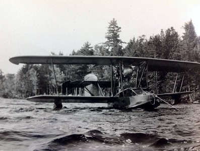 Early seaplane, 1945
