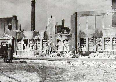 1942 Sherrill High School fire