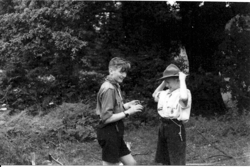 Taken on the 1st Camp, 1946