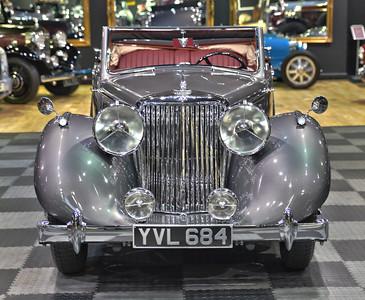 1948 Jaguar MK IV,  3 Position Drop Head Coupe 3 1/2 Litre LHD YVL 684