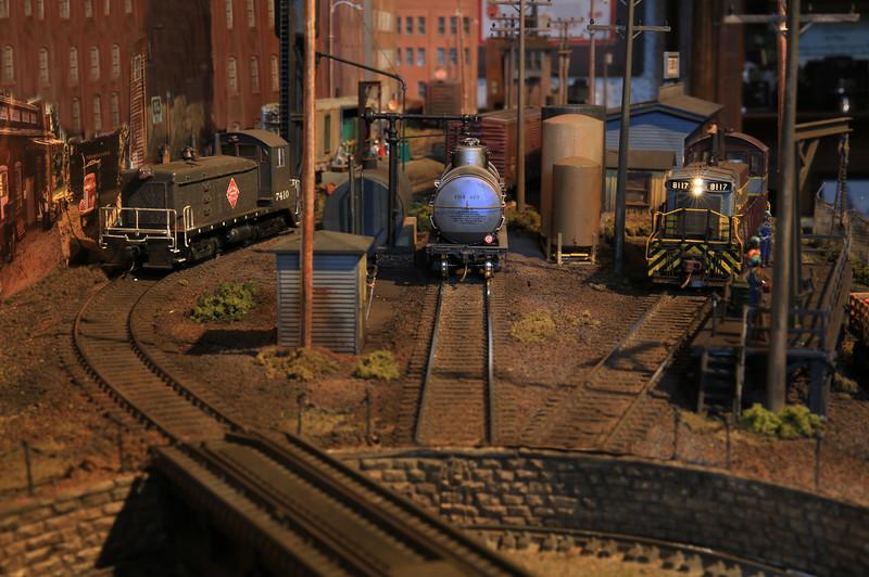 Engine Servicing Yard
