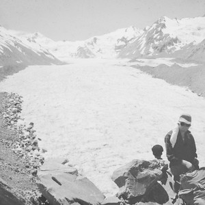 1951 up the Tasman Glacier 2