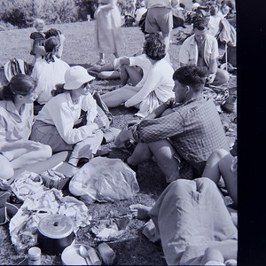 1952 Mar 2nd - Tramping Party picnic 1 (LF trans) a