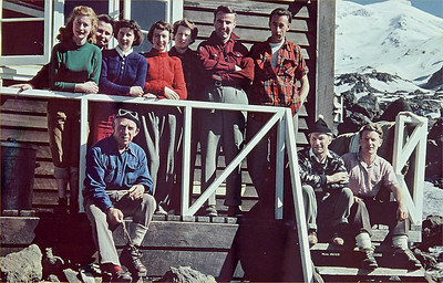 1952 CTC Ski Trip  (JER Mathews onfar right) a
