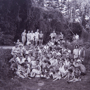 1952 Mar 2nd - Tramping Party picnic (Orongorongos) (LF trans) a