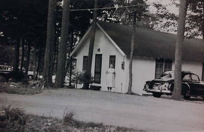 Cabin #107, early 1950's