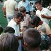 Joe Yunk in White Shirt with kids