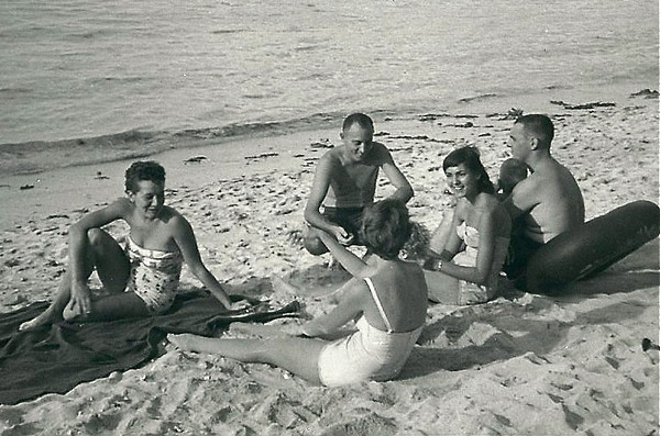 1955 Nat & Donna - Tumon Beach - Guam