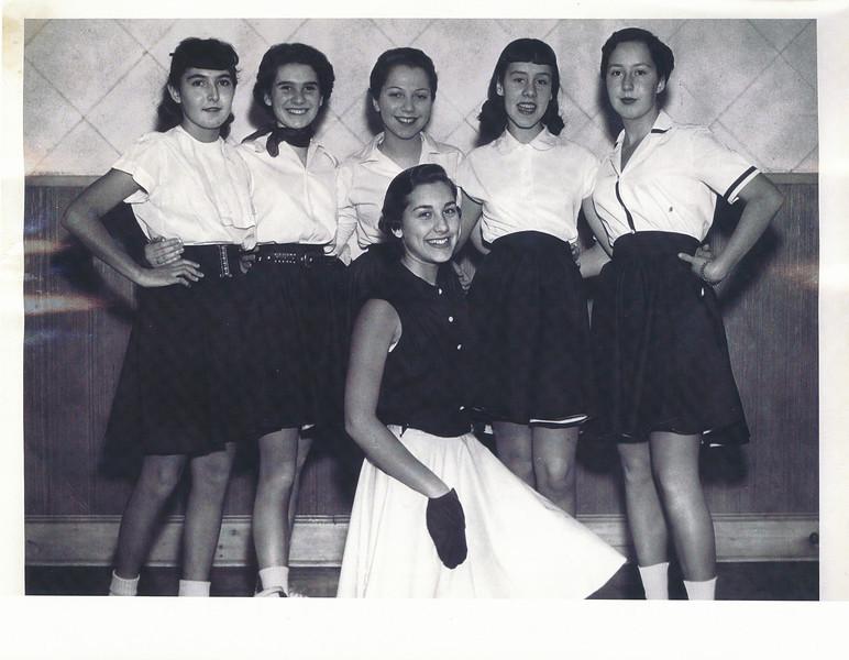 1955 Haverhill AZA Cheerleaders