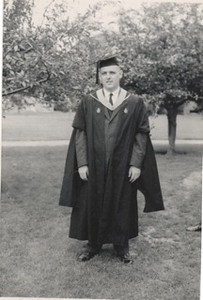 1958 05 Nat's Business School Graduation