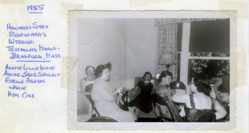 1955 Howard Rosengard's Wedding