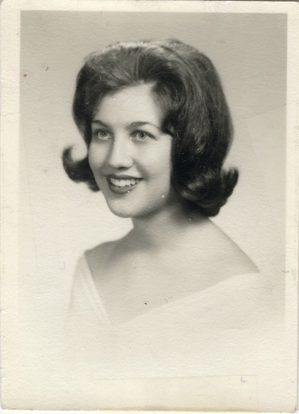 1957 06 Judy White High School Graduation