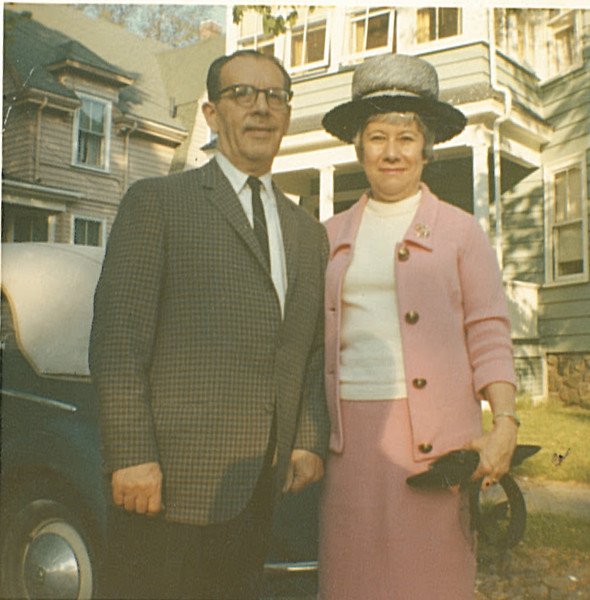 1956 Charles and Evelyne Segal