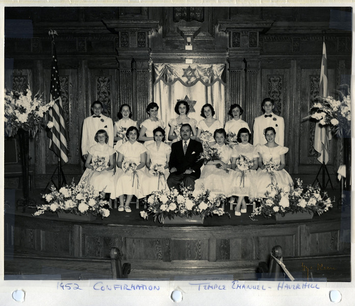 1952 Jane's Confirmation Class