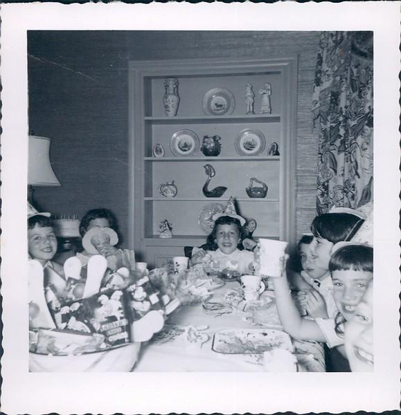1953 Karen Segal Birthday Party