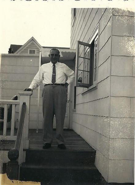 1955 Al Weiner, Byron Avenue Home, Lawrence, MA