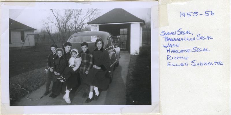 1955 - 1956 Segal Cousins