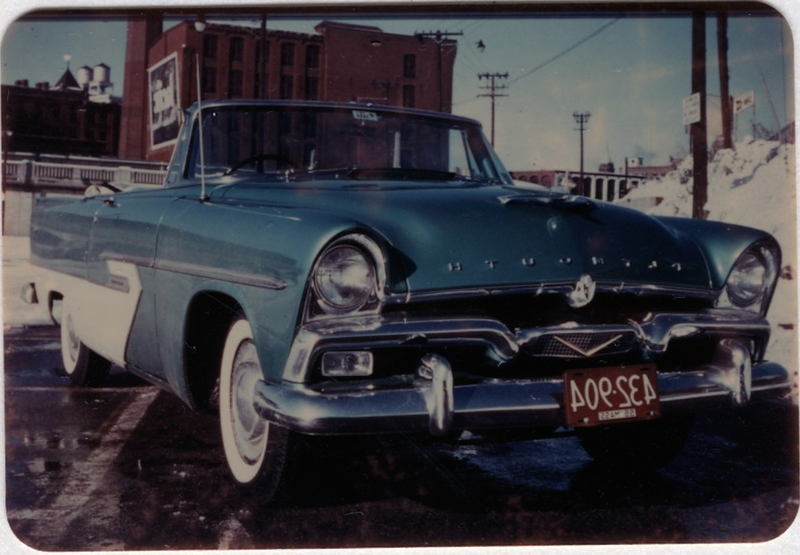 1956 Ed Weiner's First New Car