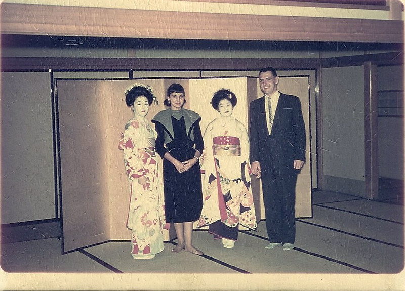 1956 Stationed in Japan