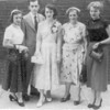 Mom's St. Catherine's, NYC Graduation l-r, Cece, Bernie, Mom, Nanny, Kay