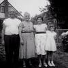 July 20, 1958 Papa & nonna with Nancy and Mary Florio