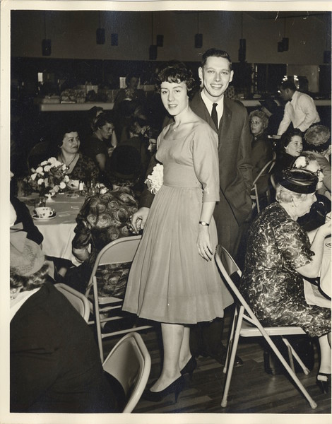 1959 11 Ed and Jane's Engagement Luncheon