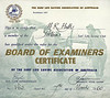 1960-03 7th Examiner Certificate Mal Hall