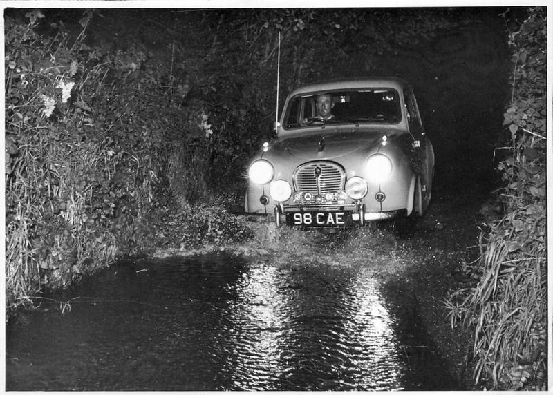 BACMC Cross Trophy Rally recce (Oct 1959)