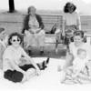 l-r, t-b, Grandma, Dotty, Nanny, Mom, Kay, Mike, Sunken Meadow Pk, NY
