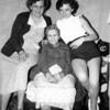 l-r, Nanny, Grandma, Cece, E 69th Street, NYC