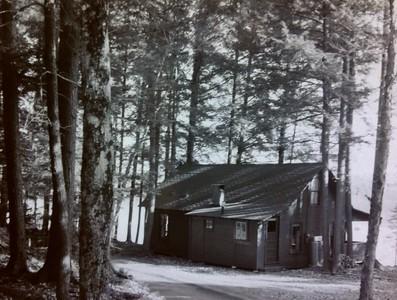 Joanna's cabin #2, just before renovation, 1965