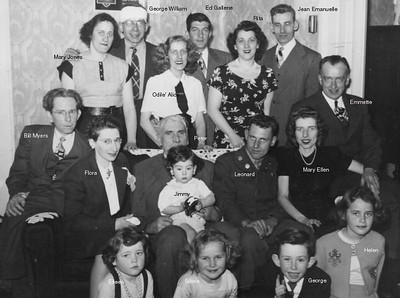 George Albert Charlebois Family