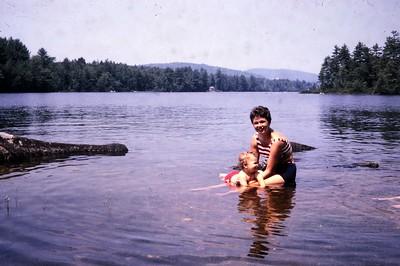 Carol and Steve Leone, early 1960's