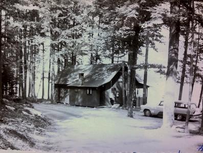 Joanna's #2 cabin, 1960