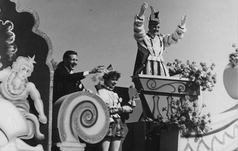 Lentejool (Door de watersnoodramp werd carnaval landelijk afgelast. Het Lentejool kwam daarvoor in de plaats in april)