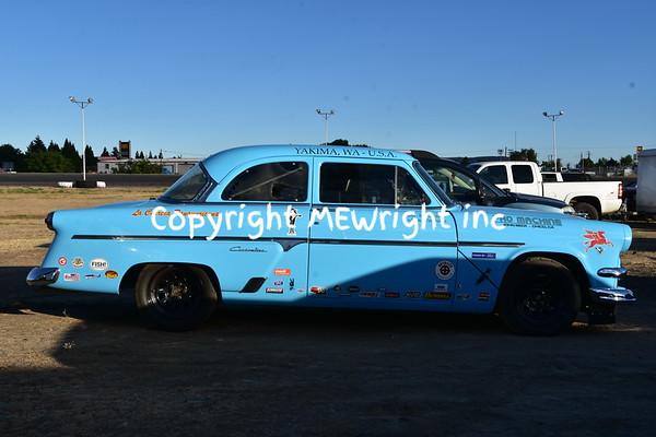 1954 Ford racecar replica