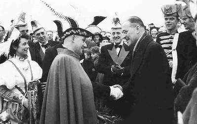 Ontvangst Prins Nico den Eerste door burgemeester Hustinx