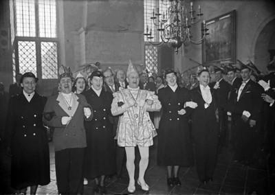 Stadhuis met de eerste vrouwelijke agentes in Nijmegen