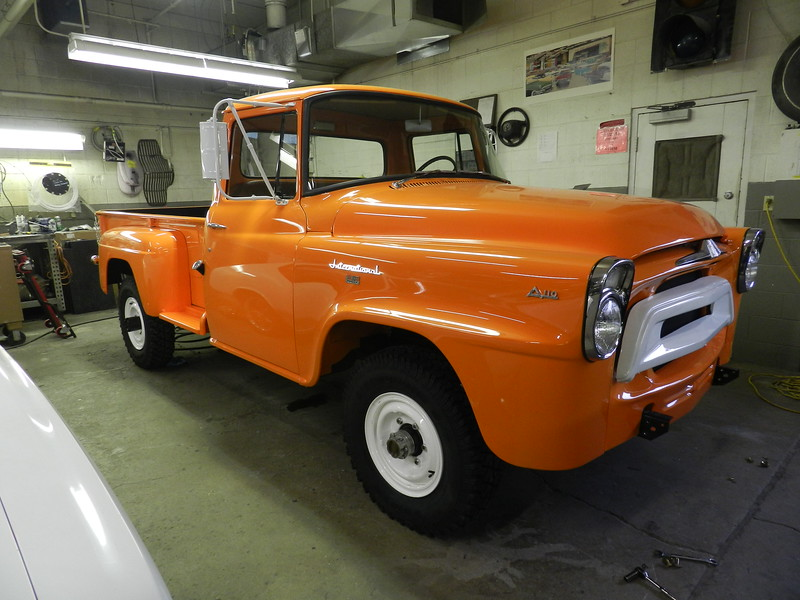 1958 International 4x4 Pickup - Suzy Epler - classicgarage