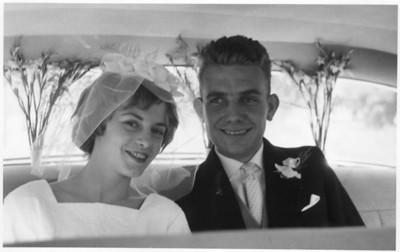 19590725 Tante Caroline en Oom Piet trouwen