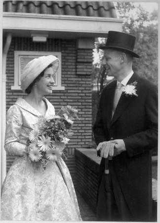 19591031 Trouwen mama en papa