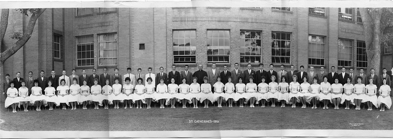 Jeanne's St. Catherines Class Photos 1961