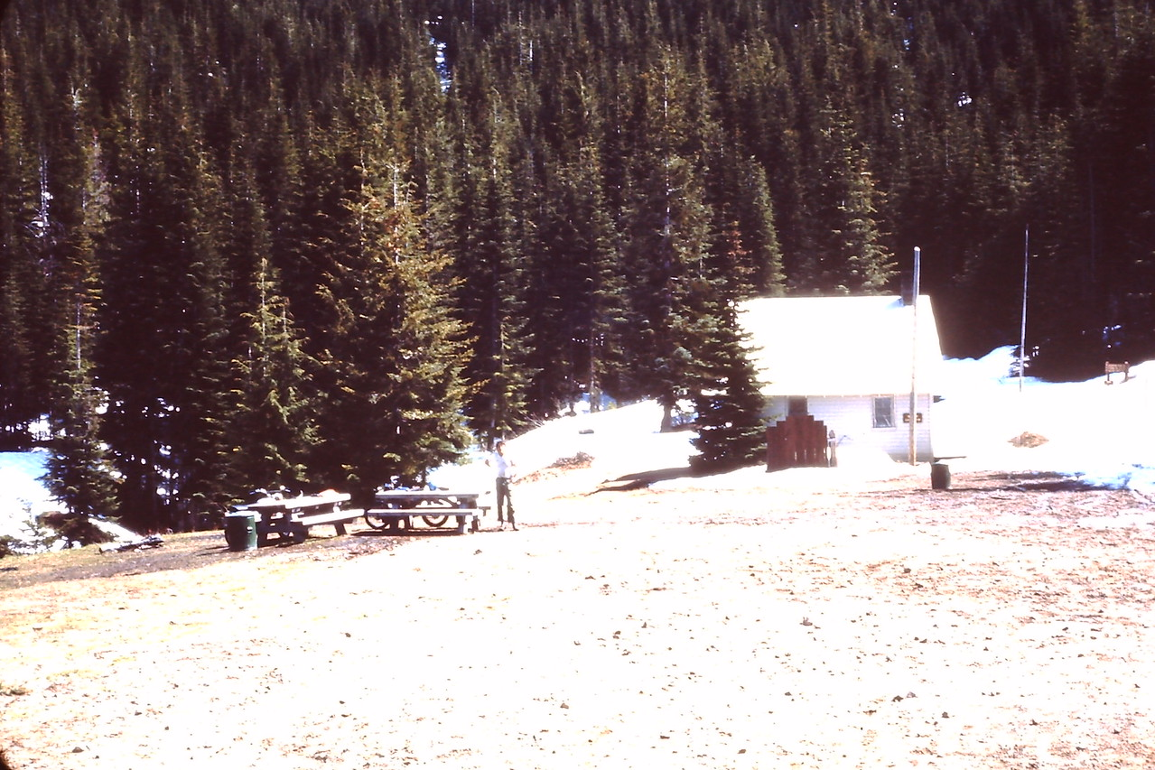The Greenwater Shelter long ago