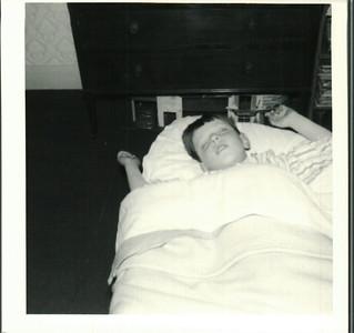 Paul asleep