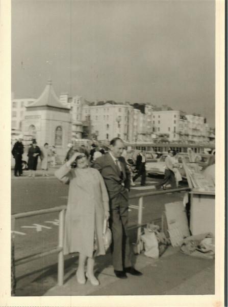 Ellen and Walter in Brighton