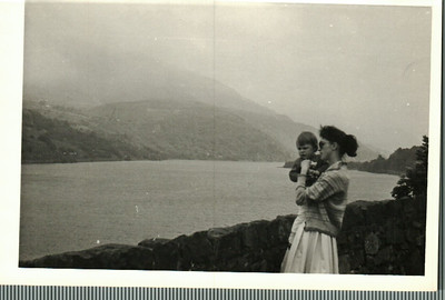 Sheila and Jean in Wales