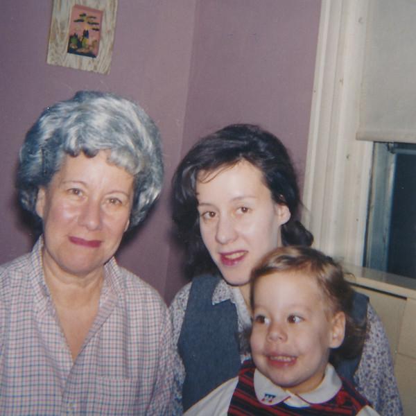 1964 12 Evelyne, Jane and Robin